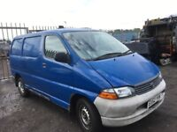 Toyota hiace van Breaking spare parts available