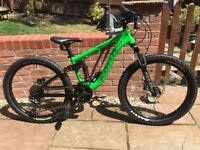 Kona Stinky 24 Dual Suspension Bike 2014 - Immaculate condition/Like new £1499 new
