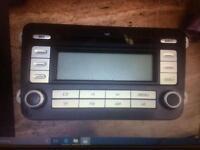 Stereo radio CD player for vw golf touran caddy Passat Jetta