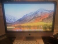 Apple iMac 27 inch 1TB 4GB All in one computer. Fantastic condition. Genuine wireless keyboard/mouse
