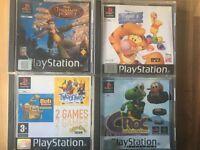 Original PS games x 4