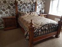 Stanley Bed / Dresser / bedside Cabinets