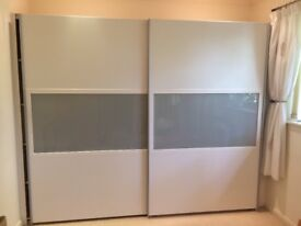 Modern fitted double wardrobe
