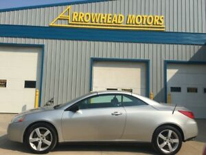 2007 Pontiac G6 GT Convertible / 2 door /