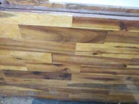 Acacia wood worktops