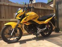 Honda CB125F for Sale 2016 under 3000 miles