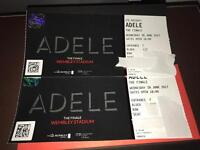 2 Adele tickets. Level One seating. Great close views. (Face value)