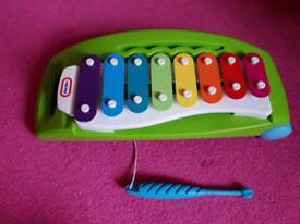 Little tikes pull along xylophone