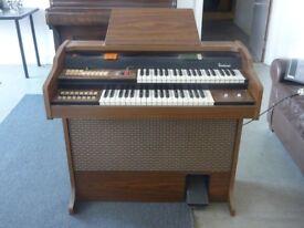 Bontempi Dual Manual Electronic Organ (1970's)