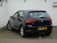 Volkswagen Golf SE TDI BLUEMOTION TECHNOLOGY (black) 2013-11-26