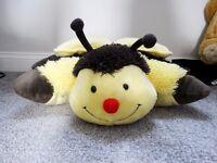 Bumble Bee Yellow and Black 'Pillow Pet'