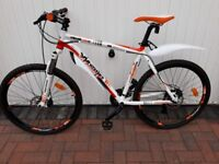 Mens Whistle Miwok 21 Speed Mountain Bike 20Inch Frame 26 Inch Wheel very Good condition