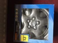"""Wheel trims """"new""""13"""" and cable ties """"fitting available"""" £"""