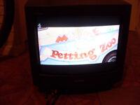 Sony Trinitron 14 inch CRT portable television