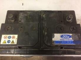 Large diesel car battery
