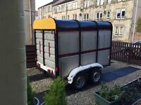 box Livestock trailer large all working condition
