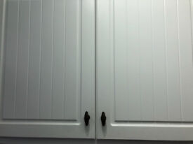 B&Q Kitchens Brass effect Bar Furniture handles/cupboard handles x 8