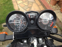 Yamaha Black YBR 125 2012 Only 4000 MILES