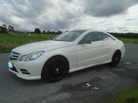 Mercedes 2013 E250 Coupe AMG 2.2 twin turbo cdi 7 speed.