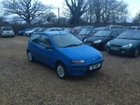 2003 Fiat Punto 1.2 1 Years MOT 4 Former Keepers Cheap Car