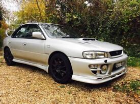 1999 Subaru Impreza Turbo 2000 WRX Prodrive Extras