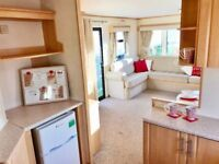 EXTRA WIDE Sited Static Caravan. Ideal family holiday home 200m to beach, Norfolk Coast nr Wells