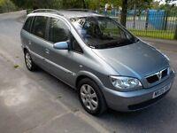 2005 Vauxhall Zafira Breeze, 1.6 Petrol, Top Specs 7 Seater, Alloy Wheels,HPI Clear, Service History