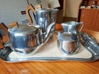 Picquot ware tea and coffee sets