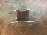 Lovely glass coffee table - pick up only £25 no offers please