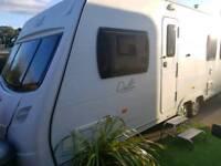 ✔✔2008 Lunar Delta TI twin wheel island fixed bed layout.vgc lovely caravan
