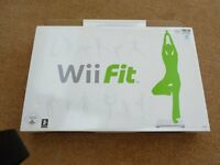 Nintendo Wii Fit board and DVD