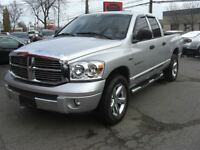 2007 Dodge Ram 1500 Laramie 4X4 Quad Cab *NAVI /Sunroof/Leather*