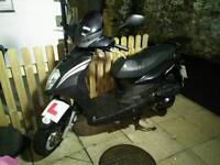 2012 SYM Symply 125 scooter, ONLY 298 miles!, NEW MOT, runs perfect, mature female owner.
