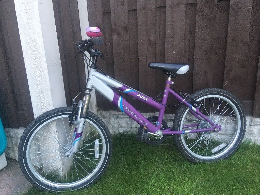 """Girls 20"""" bike with front suspension can deliver for a small charge 