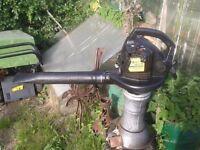 MCCULLOCH BVM 240 PETROL LEAF BLOWER spares or repairs