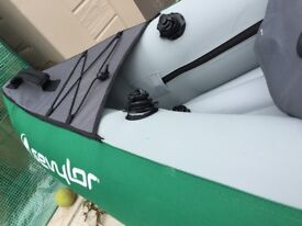 Sevylor Adventure Plus - 3 man Kayak - with pump