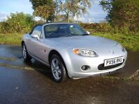 MAZDA MX-5, CONVERTIBLE, ONLY 53,000 MILES,