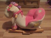 Crazy Brains rocking horse/pony