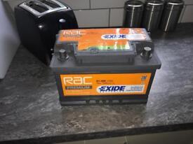 RAC Car battery £35 ONO