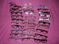 job lot/bulk buy prescription glasses over 31 pairs