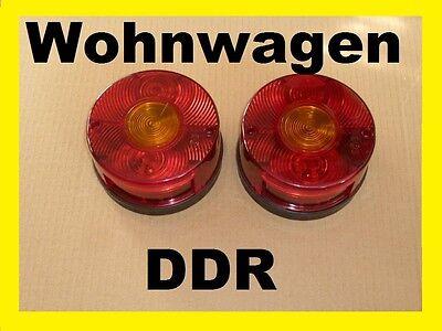 2x Rücklicht Wohnwagen DDR Bastei QEK Junior Dübener Ei Würdig 301 Aero Queck gebraucht kaufen  Hain