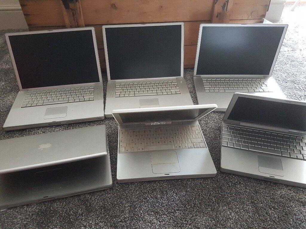 Joblot Apple powerbooks/macbooks