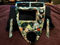 Honda ep3 ep2 center console & handles hydro dipped in anime