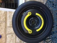 Space saver wheel to fit Skoda Octavia / Yeti etc
