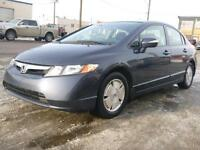 Reduced!! 2007 Honda Civic Hybrid $9995 or only $91 Bi Weekly