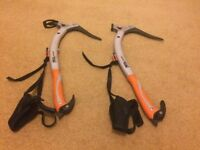 Petzl Charlet Ice Axe pair