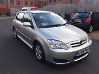 TOYOTA CORROLLA 2005 1.6 5 DOOR NEW CLUTCH KIT FITTED TODAY FULL SERVICE HISTORY HPI CLEAR
