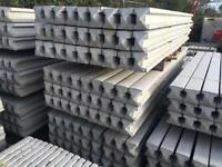 🍁 VARIOUS SIZE CONCRETE FENCING POSTS > NEW