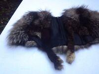 *CHARITY SALE* Vintage fur shawl / stole (18)