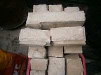 Quantity of stone blocks free to collector